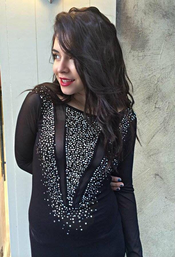 Diamond Collection Dress Close Up