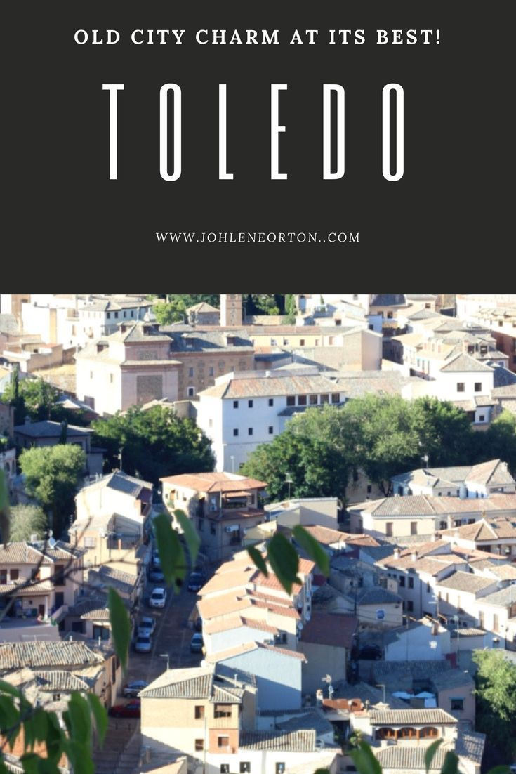 Toledo is aprox 1 hours drive from Madrid. A must see when you´re traveling to this area in Spain. Old city charm at it´s best!