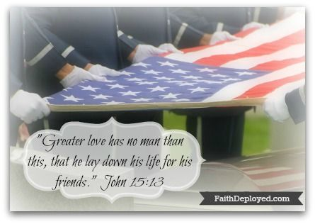Free Because of Sacrifice, a Memorial Day devotion.
