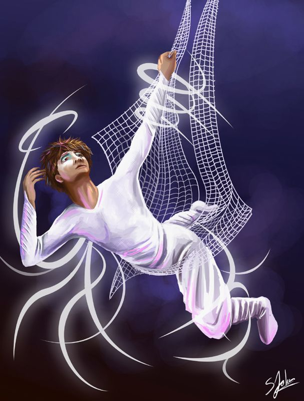Varekai | Mark Halasi as Icarus by Sheridan Johns [©2007]