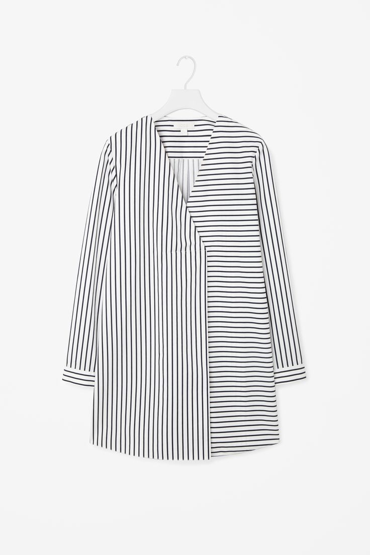 COS | Long oversize stripe top