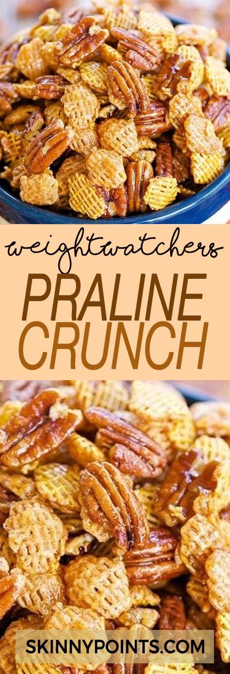 PRALINE CRUNCH -  Weight watchers Smart points Friendly