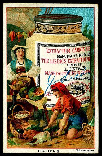 Liebig  - Merchants of the World, Italian    #TuscanyAgriturismoGiratola
