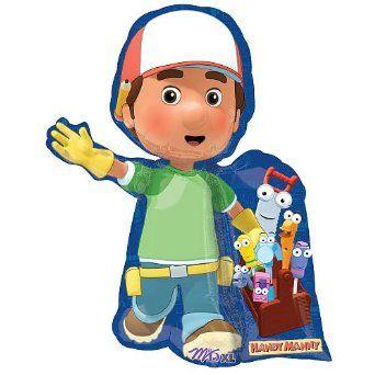 Amazon.com: Handy Manny Birthday Party Supplies Mylar Balloon Super Shape: Toys & Games