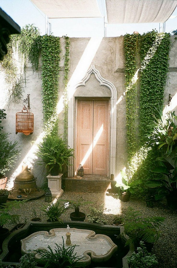 10 mejores ideas sobre estanques de patio trasero peque os for Rincones de jardines pequenos
