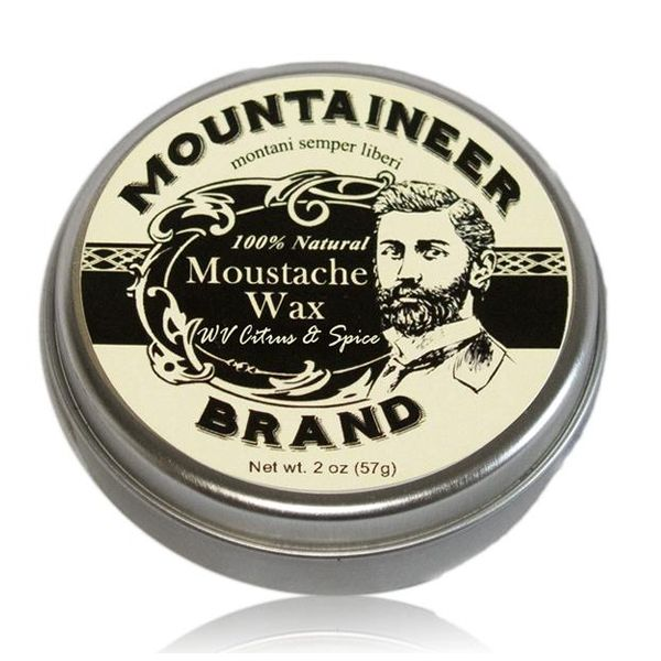 Mountaineer Brand Citrus & Spice Mustache Wax