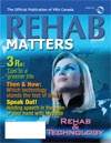 eRehabilitation: An emergent tool in rehab services | An article we published in Rehab Matters, the Vocational Rehabilitation Association of Canada Journal