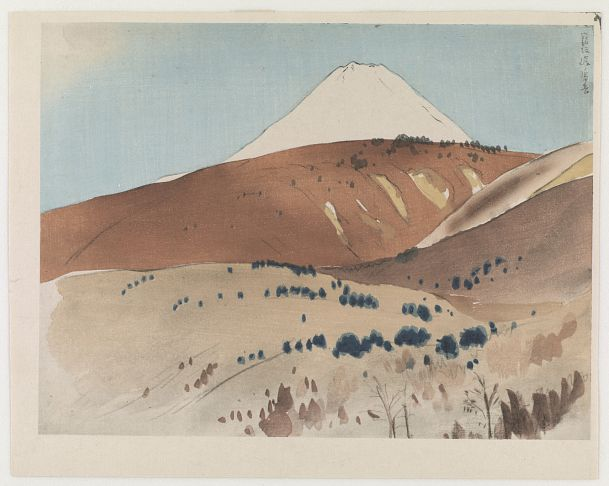Landscape | Artist unknown | Japan | Woodblock print | 20th century | Taisho to Showa era | Freer and Sackler | S2003.8.3704