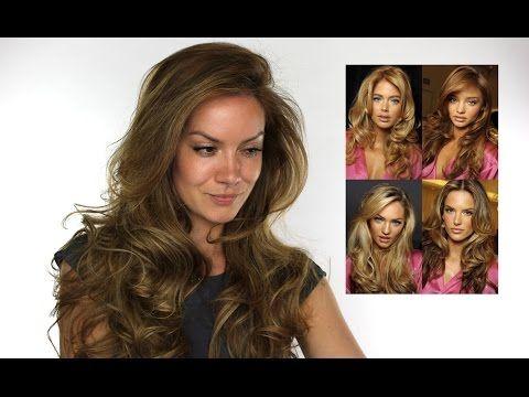 ▶ Victoria Secret Inspired Bouncy Hair Tutorial | Shonagh Scott | ShowMe MakeUp - YouTube