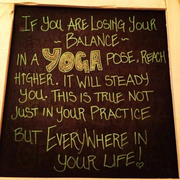 Reach Higher ↑ #Yoga #quote ~ #balance ~