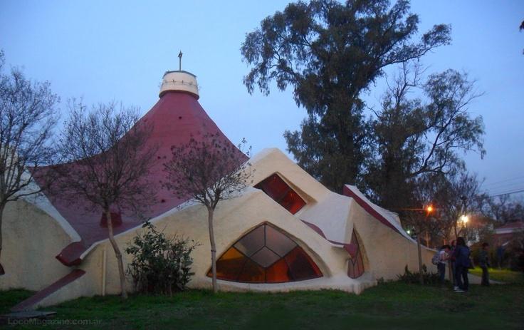 La capilla Nuestra Señora de Guadalupe de Claudio Caveri