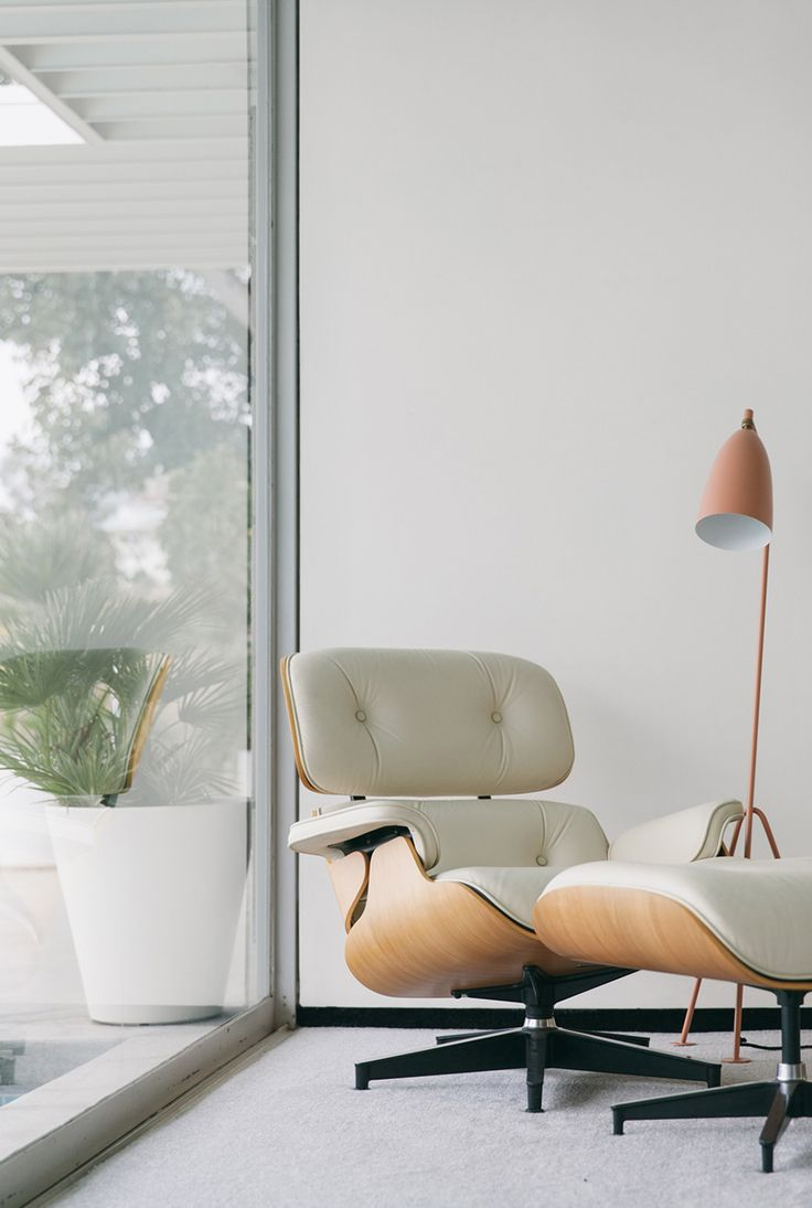 Stahl House | Cereal Magazine Volume 8 | Eames chair and ottoman