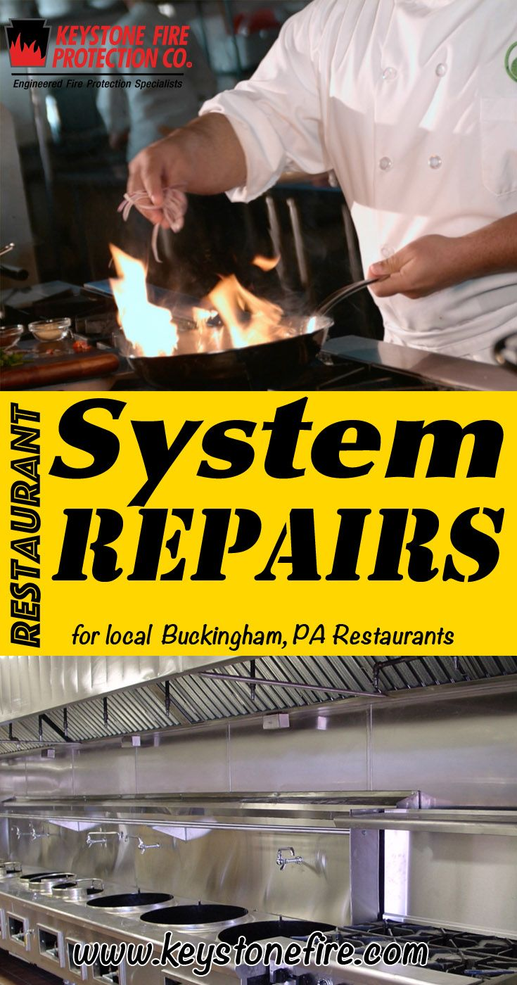Restaurant System Repairs Buckingham (215) 641-0100.. Local Pennsylvania Restaurants you have found the complete source for Fire Protection. Fire Extinguishers, Restaurant System Service.. We're got you covered..
