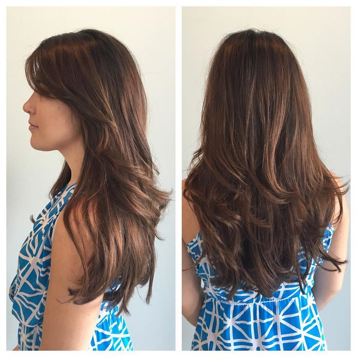 44 best images about long straight layered hairstyles on