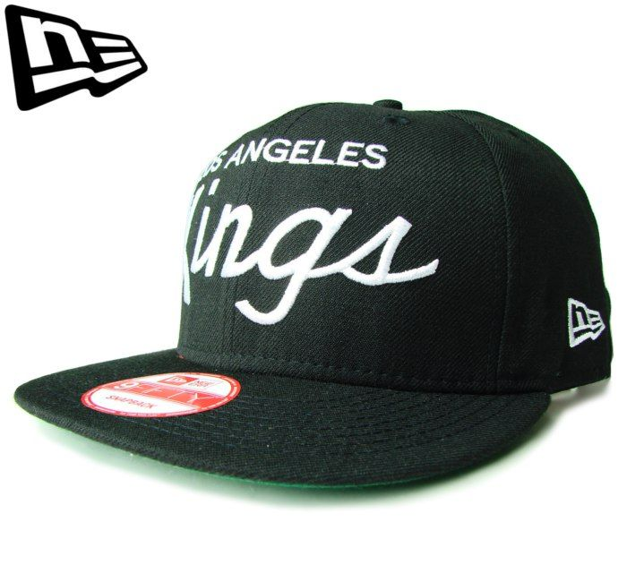 【ニューエラ】【NEW ERA】9FIFTY LOS ANGELES KINGS ロゴ ブラック スナップバック【CAP】【newera】【帽子】【NHL】【snapback】【snap back】【ロサンゼルス・キングス】【NHL】【アイスホッケー】【白】【楽天市場】