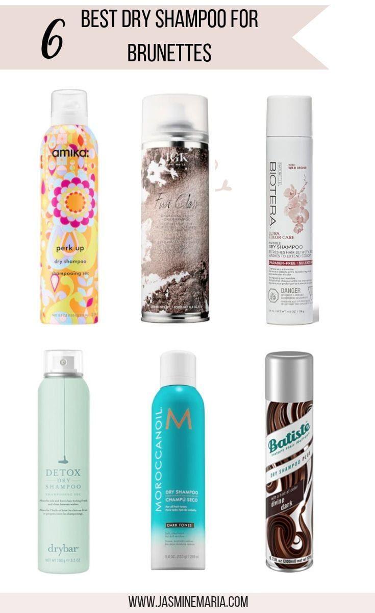 6 Best Dry Shampoo For Brunettes Best Dry Shampoo Dry Shampoo Amika Dry Shampoo