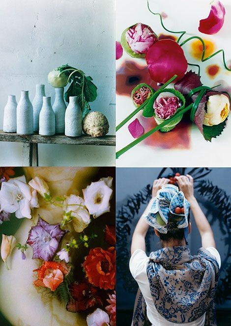 flowers make me happy: Images from Lidewij Edelkoort's Magazine Bloom