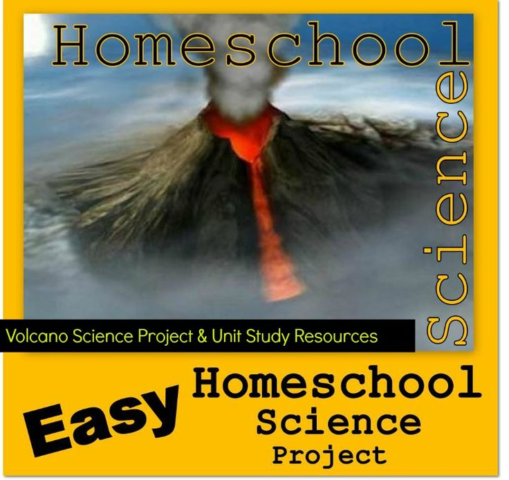 Volcano Science Project & Unit Study Resources
