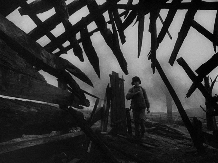 IVAN'S CHILDHOOD (1962) DP: Vadim Yusov | Dir: Andrei Tarkovsky