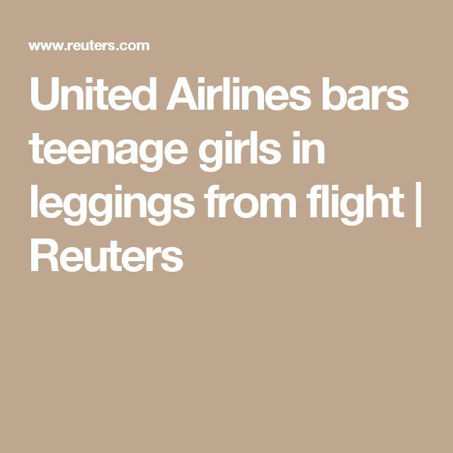 United Airlines bars teenage girls in leggings from flight | Reuters