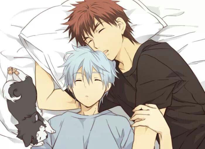 Kuroko Sleep with kagami: