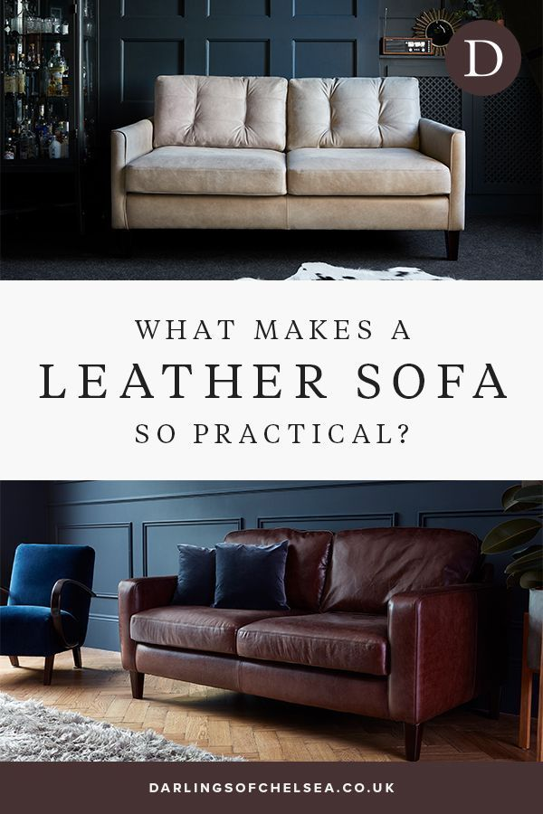 Three Reasons Why A Leather Sofa Is So Practical Leather Sofa