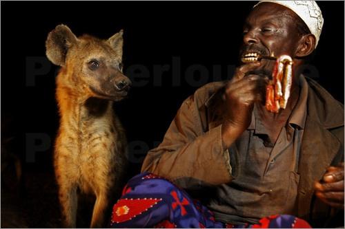 hienas y hombres: Harar Johnny, Johnny Haglund Getty, Johnny Haglundgetti