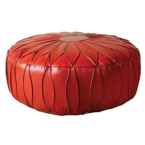 8.Sun Leather Ottoman, $945, from Republic Home.  http://www.republichome.com/Ottomans