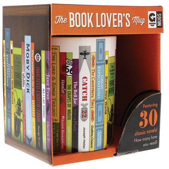 Book Lover Mug - The Literary Gift Company