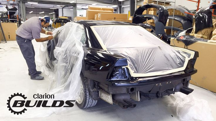 Clarion Builds 1993 BMW E31 Gets Color Change to Carbon Black Metallic