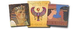 Best world history book list for kids.  Living books.