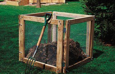 Easy Compost Bin: Compost Bins, Garden Ideas, Stuff, Diy'S, Easy Compost, Bin Idea, Gardening, Compost Idea, Diy Compost Bin