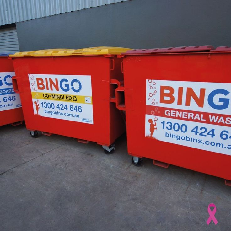 Waste separation reduces pollution and increases efficiency. Find out more about our commercial waste services across New South Wales and Victoria. #BingoHQ