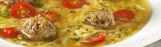 Italian Beef Meatball Soup - Canadian Beef