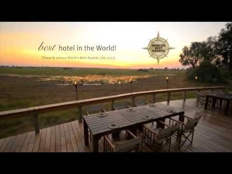 Mombo Camp, Botswana: Best Hotel in the World! - YouTube #Safari #Africa #Botswana  #WildernessSafaris