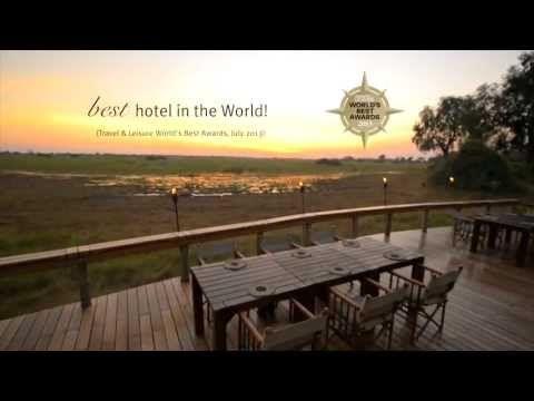 Mombo Camp, Botswana: Best Hotel in the World! - YouTube #Safari #Africa #Botswana  #WildernessSafaris