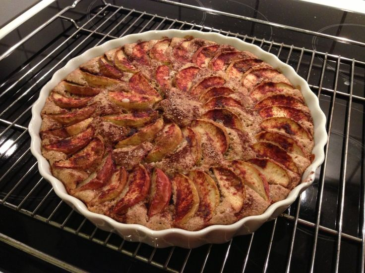 Glutenfri æblekage #1