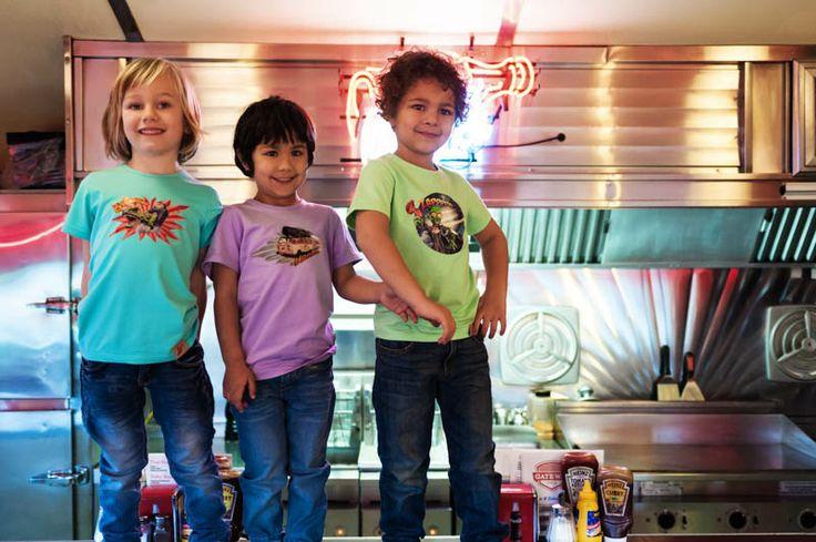 Oteez; hippe, stoere shirts voor coole jongens!