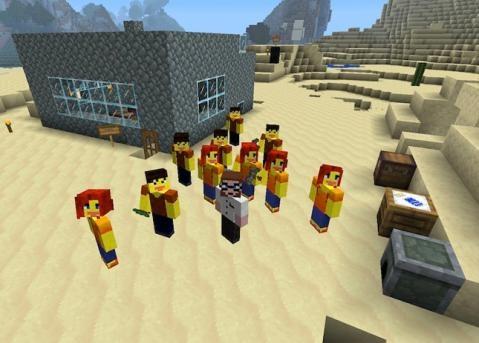 Niños, guardad los libros, hoy damos clase en el mundo de Minecraft