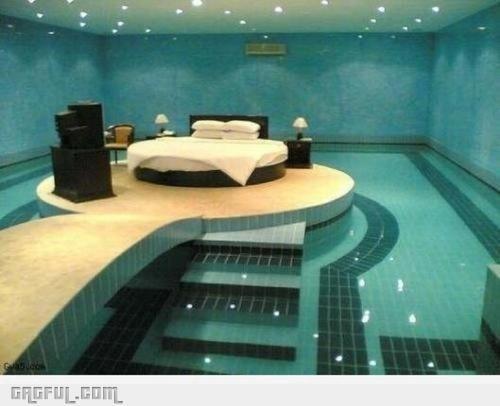bed pool...incredible.Dreams Bedrooms, Swimming Pools, Beds, Bedrooms Design, Pools Bedrooms, Master Bedrooms, Dreams Room, Dream Bedrooms, Bedroom Designs