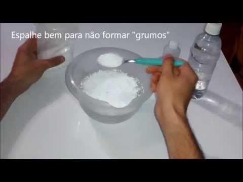 Como fazer álcool gel 70% para assepsia - YouTube