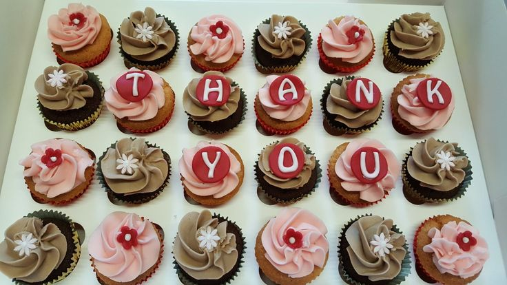Thank you mini cupcakes  #cupcakes