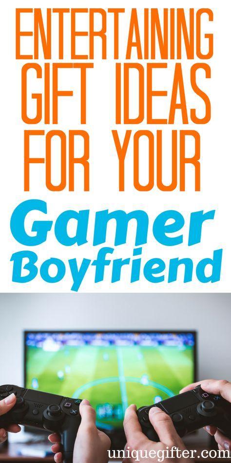 20 Gift Ideas For Your Gamer Boyfriend