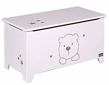 MOTHERCARE  £99 Tutti Bambini Three Bears Toy Box - White