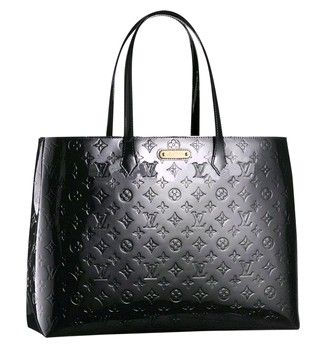 Louis Vuitton Wilshire GM Black Tote