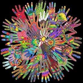 Aboriginal colours/designs...idea for NAIDOC week activity.