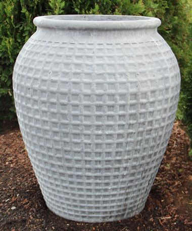 Metro Light Authentic Grey Dimple Jar