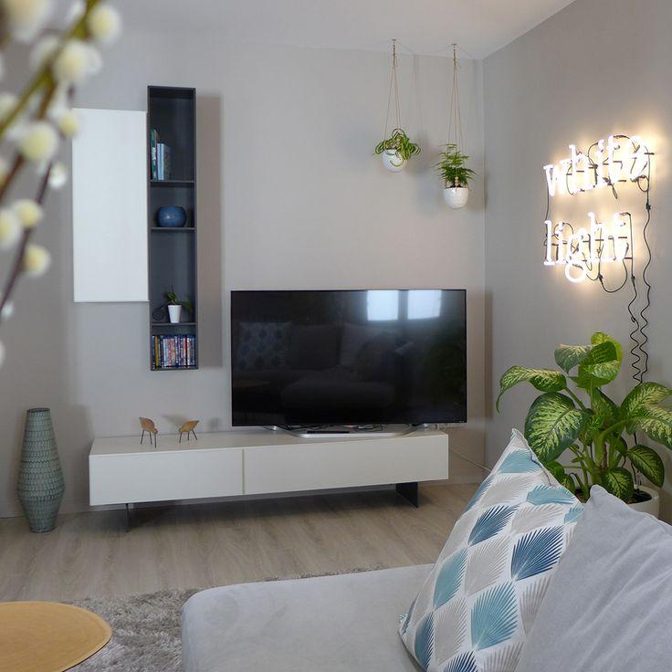 17 meilleures id es propos de meuble t l d angle sur for Canape sejour
