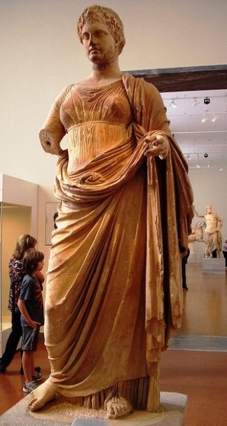 The goddess Themis (300 BC). Found at Ramnous, Attica _ National Archaological Museum of Athens / by Athang1504 via Flickr