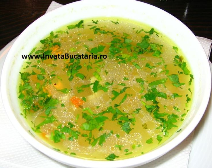Supa de pui dietetica